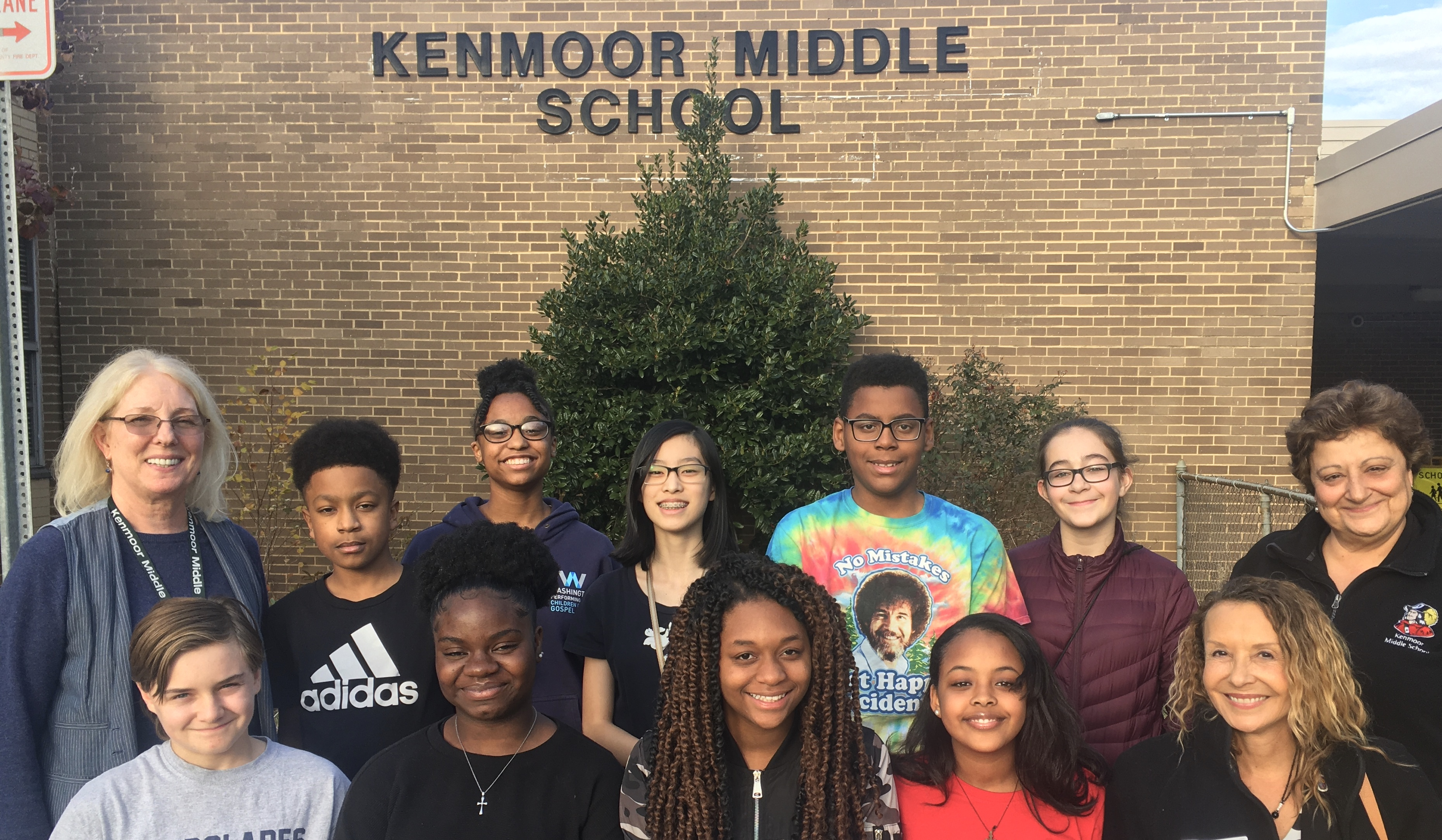 Kenmoor MS students impact plastic straw ban