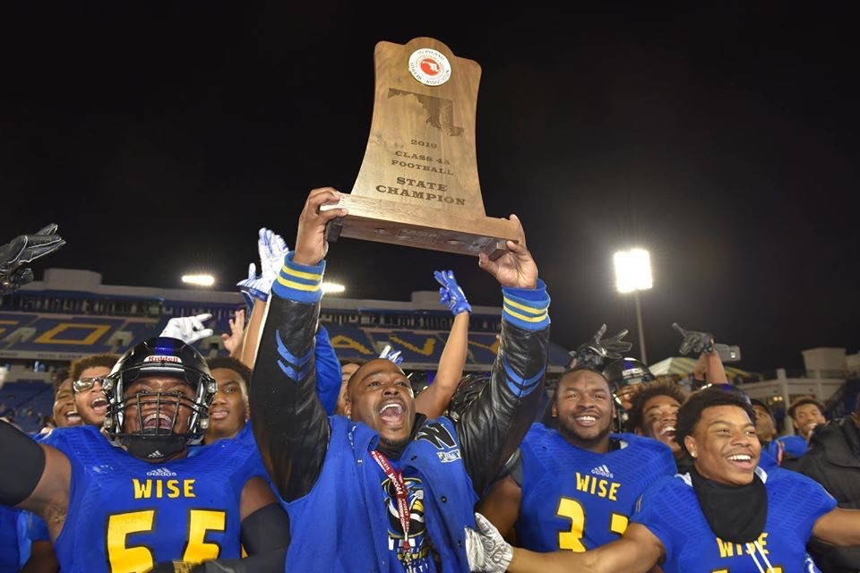 Wise HS Pumas win 2019 Maryland 4A State Championship